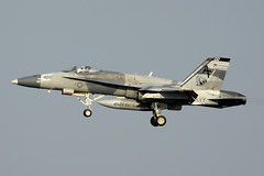U.S. Navy Boeing F/A-18A Hornet #162890 (Flightline Aviation Media) Tags: airplane airport fighter aircraft aviation military neworleans navy jet hornet boeing stockphoto msy fa18 canon50d riverrattlers 162890 kmsy bruceleibowitz 7710111