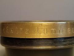 Pathe Freres Extra Lumineux (VII) 150mm (cinema Petzval lens) n 24 (heritagefutures) Tags: cinema lens extra vii freres lumineux 150mm path petzval