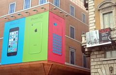 I-Phone vs Capa (Capitan Mirino ( il Tartarughino )) Tags: mostra italy roma piazzanavona lazio iphone pubblicit robertcapa palazzobraschi