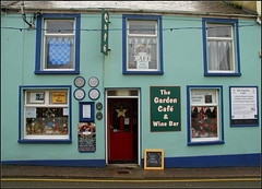 The Garden Caf (catb -) Tags: street ireland caf shop dingle kerry fa