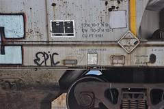 Texican Gothic, Sluto (NJphotograffer) Tags: new railroad art train bench graffiti gothic nj rail jersey marker graff streaks hobo epic hopper freight trackside moniker texican benching sluto