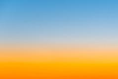 Sunset Gradation (GLIDEi7) Tags: blue sunset sky orange color japan zeiss tokyo sony 夕陽 日本 東京 gradation 夕景 空 青 オレンジ nex α 色 グラデーション ソニー nex5n sel1670za variotessart*e1670mmf4zaoss e1670mmf4zaoss