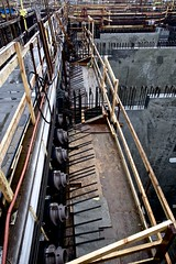Post-tensioning components in place (WSDOT) Tags: th wsdot washingtonstatedepartmentoftransportation kiewit bridgeconstruction pontoon floatingbridge sr520 stateroute520 aberdeen ironworker sr520pontoons cycle4
