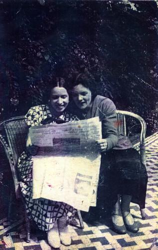 Kate Kerry and Mary Hamill 1930s