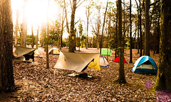 Tenting Back Campus (hal.cook777) Tags: sc sunrise us woods object tent campsite tenting bsa 519 backcampus boyscoutsofamerica blueridgecouncil troop519 newkeywords groupboyscoutsofamerica hammockcity hammocktown