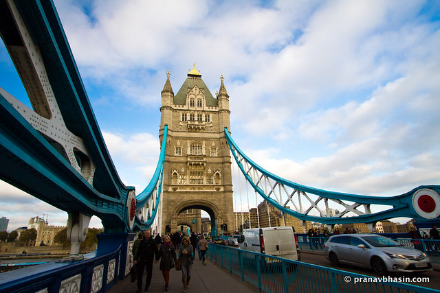 Tower Bridge London And It's Giant Suspensions
