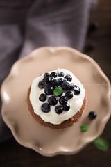 dolcini cioccolato e mirtilli-5623 (Laura Adani) Tags: summer stilllife food cake fruit cakestand recipe dessert sweet chocolate seasonal cream celebration blueberry cupcake snack cocoa filling topping minicake