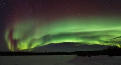 Northern Lights - Explored (Photography Peter101) Tags: sunset nature canon lights northern