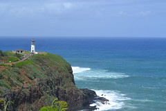 Kilauea Point Lighthouse (KsCattails) Tags: ocean lighthouse point hawaii surf waves wildlife scenic kauai overlook kilauea refuge kilaueapointnationalwildliferefuge