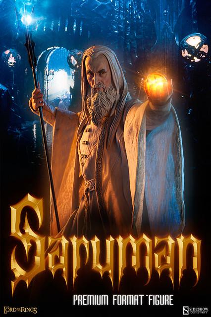 搶購啟動!SIDESHOW電影版白袍巫師薩魯曼雕像推薦!