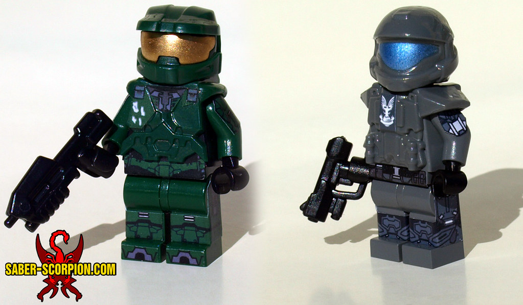 The world 39 s best photos of brickforge and halo flickr - Lego spartan halo ...