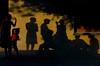 Rehearsing Reality (Giovanni Savino Photography) Tags: street rural children shadows rehearsal dominicanrepublic streetphotography projection reality sunsetlight magneticart ©giovannisavino