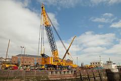 20140413_32769 (axle_b) Tags: ltm haven marina docks dock lift crane lock engineering harvey milford heavy hire mclaughlin milfordhaven liebherr 11000 heavylift ainscough milfordmarina milforddocks mclaughlinharvey liebherrltm11000 mclaughlinandharvey