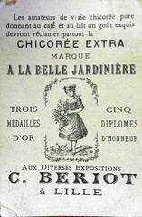Etiquette Chicore Belle Jardinire (tite elfe) Tags: collection publicits chromos imagesanciennes