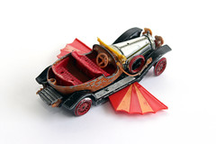 Corgi Chitty Chitty Bang Bang Back (Shockin Goblin) Tags: old car vintage toy corgi model special worn edition collectable diecast chittychittybangbang lettert
