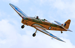 Backwards Stare.. (mickb6265) Tags: milesmagister shuttleworthcollection oldwarden p6382 shuttleworthcollectionmilitarypageantairshow2015