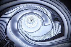 Vertical Vortex (ScopPics) Tags: spiral stair treppe treppenauge