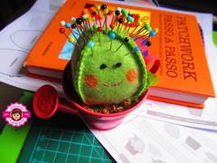 Cacto alfineteiro ( By Ane Santos ) Tags: felt feltro cacto kactus alfineteiro
