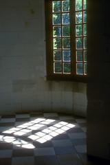 Chateau de Chenonceau Sunlit Turret Interior Loire Valley France (Don Thoreby) Tags: france interior sunlit turret chateaux francais chateaudechenonceau loirerivervalley