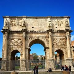 Arco do Triunfo de Constantino, inaugurado no ano de 315 d.C. (jpcamolez) Tags: arco do triunfo de constantino inaugurado no ano 315 dc