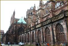 Catedral de Estrasburgo (27-7-2011) (Juanje Orío) Tags: francia estrasburgo 2011 catedral gótico monumentohistóricodefrancia patrimoniodelahumanidad whl0495 worldheritage alsacia sigloxii sigloxv