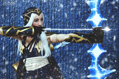 Ashe Cosplay (Half Light Photography) Tags: ashecosplay leagueoflegends lol ashe winterfest2017 winterfest winnipegcosplay cosplay photography cosplayphotography winter snow ice blue winnipeg
