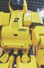 20170312_142311-01 (franckinjapan) Tags: japan tsukuba space science museum robot yellow standing hrp ロボット 黄色 つくば 日本 expo center 写真 geo:lat=36086473 geo:lon=140110554