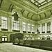 Main waiting room of the new Lackawanna RR station at Hoboken, NJ - 1906