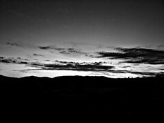 Atardecer (Miguel Alejandro Silva Henrquez) Tags: sunset sky blackandwhite clouds edit potography awesomeshots capturedmoment streamzoo streamchile