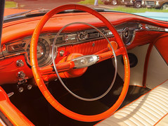 Clockwork Orange (54 Ford Customline) Tags: orange cars gm interior 1954 rockabilly dashboard rocknroll instruments hdr hotrods gauges oldsmobile customs psychobilly cs6 kustomkulture ferntreegullyhotel 54olds 1954oldsmobilerocket88 kustomkulturemeltdown