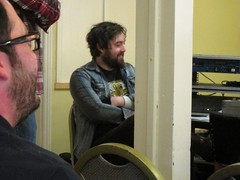 Machynlleth Comedy Festival, 3-5 May 2013, West Wales (DG Jones) Tags: rock wales rural westwales cymru comedian powys mach montgomeryshire machynlleth dyfivalley nickhelm ancientcapitalofwales