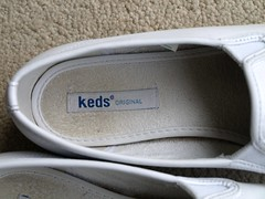 WORN SHOES/TRAINERS (stevsoll) Tags: sneakers trainers worn keds plimsolls daps plimsoles