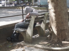 Sleeping (elbrozzie) Tags: nyc newyorkcity manhattan lowereastside rooseveltpark