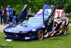 Vector M12 (scott597) Tags: park blue ohio red white cincinnati american diablo concours lamborghini vector m12 v12 ault flad 2013