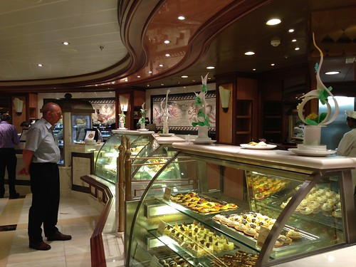 Patisserie on Royal Princess