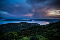 Taal Volcano (Imahinasyon Photography) Tags: blue cloud lake canon landscape volcano golden philippines taal