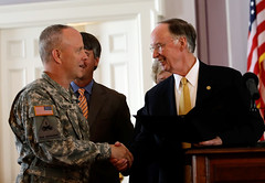 06-27-13 Governor Bentley Bill Signing for Military-Related Legislation