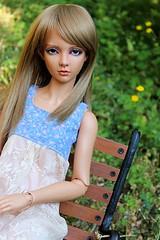 Tania (AniredaDolls) Tags: girl doll dolls skin tan elf sd half bjd lovely tania halfelf limhwa