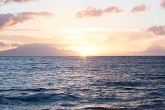 Pastel Sunset (kirstin.devens) Tags: ocean sunset usa june hawaii sunsets maui sunsetbeach 2013 canonrebelxs canoneos1000d