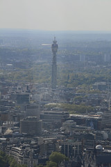 The Shard, The View From The Viewing Platform, BT Tower (Post Office Tower) (Martin Pettitt) Tags: city london glass skyscraper spring nikon cityscape rooftops capital sightseeing may dslr renzopiano dayout londontrip viewingplatform londonsights theviewfromabove theshard afsdxvrzoomnikkor18200mmf3556gifedii nikond7100 bttowerpostofficetower europeantallest floor6872