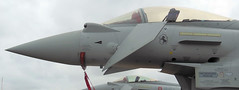 The Pointy End.......... (MWBee) Tags: nikon eurofighter riat royalinternationalairtattoo italianairforce raffairford 3637 eurofighteref2000 mwbee coolpixs9300 me2youphotographylevel1