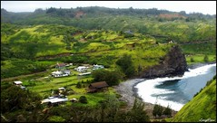 From Highway 30, Maui, HI (Antonia Quest Photography/Larry Moore--Thanks) Tags: ocean beach hawaii coast village pacific maui mountians