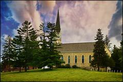 St. Patrick's Church-Garryowen (keeva999) Tags: summer texture church rural nikon country iowa hss d3200 memoriesbook distressedjewell