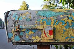 No Mail (skipmoore) Tags: mailbox peeling mail millvalley