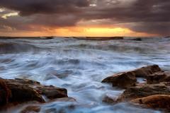 Out to Sea (Exploring Light) Tags: ocean sunrise dawn coast florida shoreline atlanticocean atlanticcoast palmcoast washingtonoaks