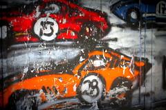 Go Car Go (gwynyfier) Tags: nyc blue red orange newyork cars paint manhattan faded 17 28 fading 13 vroom