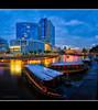 Last Call (HakWee) Tags: sunset singapore bumboat clarkequay singaporeriver bumboats centralmall