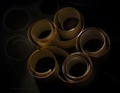 swirls (marianna armata) Tags: brown black macro lines paper studio curves strip roll swirl curl topview tabletop mariannaarmata