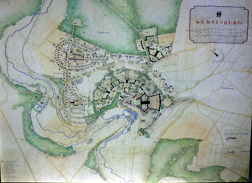 wewelsburg castle - the SS plan