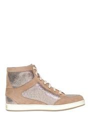 JIMMY CHOO  20MM TOKYO GLITTER & SUEDE SNEAKERS (zavertiose) Tags: winter fall glitter tokyo women shoes jimmy sneakers choo 20mm suede 2013 jimmychoo20mmtokyoglittersuedesneakersfallwinter2013womenshoessneakers